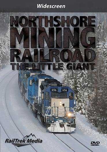 Northshore Mining Railroad - The Little Giant DVD RailTrek Media NSM-01