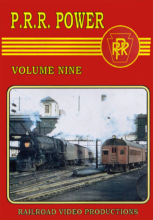 Pennsylvania Railroad Power Volume 9 DVD Railroad Video Productions RVP218D