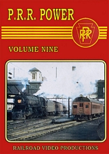 Pennsylvania Railroad Power Volume 9 DVD