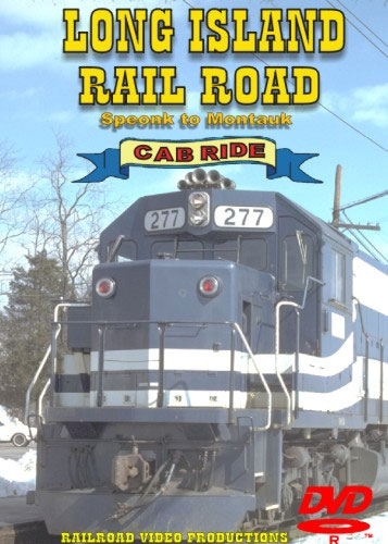Long Island Rail Road Speonk to Montauk Cab Ride DVD Train Video Railroad Video Productions RVP105D