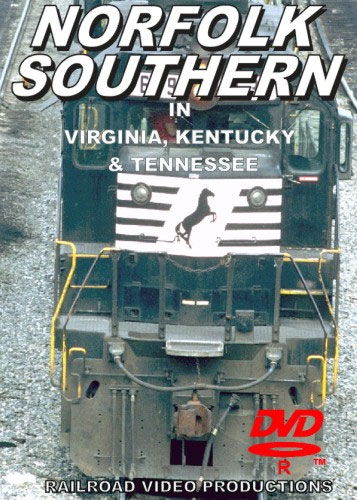 Norfolk Southern in Virginia Kentucky & Tennessee DVD Train Video Railroad Video Productions RVP109-147D