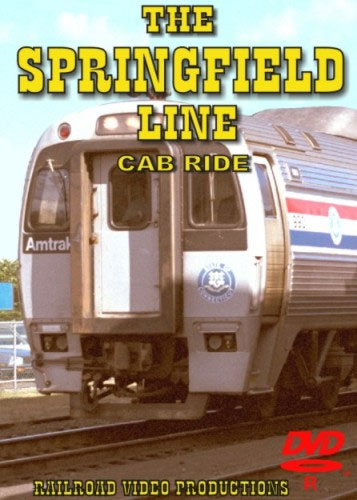 The Springfield Line Cab Ride Volume 1 DVD Train Video Railroad Video Productions RVP10AD