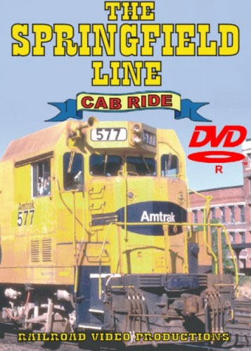The Springfield Line Cab Ride Volume 2 DVD Train Video Railroad Video Productions RVP10BD