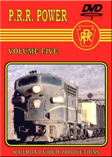 Pennsylvania Railroad Power Vol 5 DVD Railroad Video Productions RVP115D