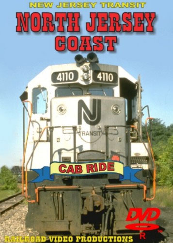 New Jersey Transit North Jersey Coast Cab Ride DVD Train Video Railroad Video Productions RVP11D