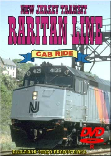 New Jersey Transit Raritan Line Cab Ride DVD Train Video Railroad Video Productions RVP12D