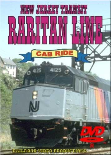New Jersey Transit Raritan Line Cab Ride DVD Railroad Video Productions RVP12D