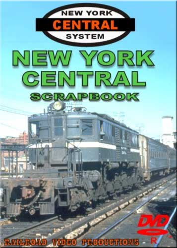 New York Central Scrapbook DVD Railroad Video Productions RVP140D
