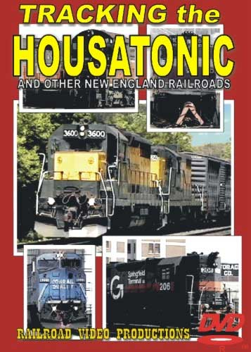 Tracking the Housatonic and Other New England Railroads DVD Train Video Railroad Video Productions RVP155D