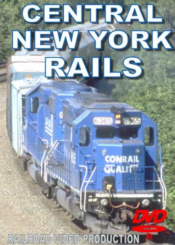 Central New York Rails DVD Train Video Railroad Video Productions RVP156D