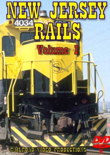 New Jersey Rails Volume 1 DVD Railroad Video Productions RVP163D