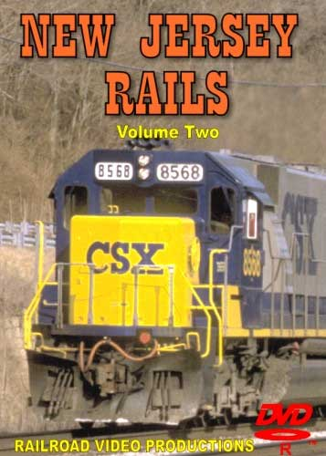 New Jersey Rails Volume 2 DVD Railroad Video Productions RVP164D
