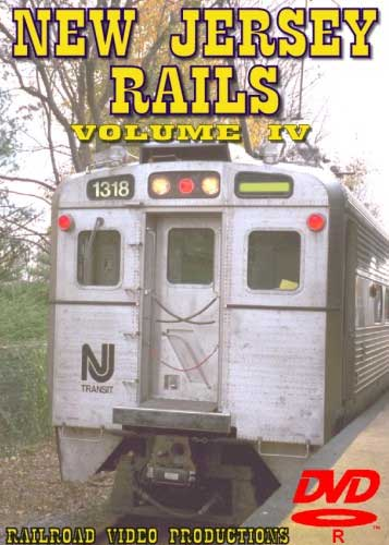 New Jersey Rails Volume 4 DVD Train Video Railroad Video Productions RVP170D