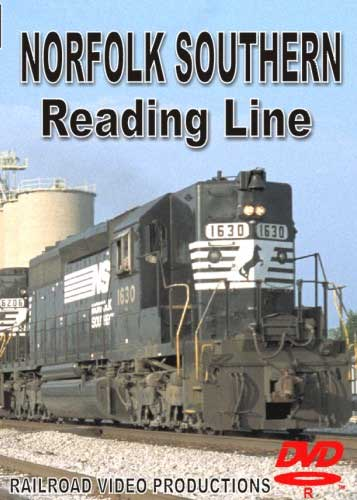 Norfolk Southern Reading Line DVD Train Video Railroad Video Productions RVP171D