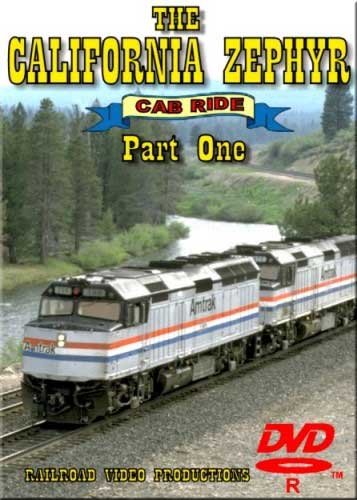 Amtraks California Zephyr Cab Ride Part 1 Denver to East of Moffat Tunnel DVD Railroad Video Productions RVP17AD