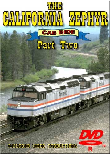 Amtraks California Zephyr Cab Ride Part 2 Moffat Tunnel to Granby DVD Railroad Video Productions RVP17BD