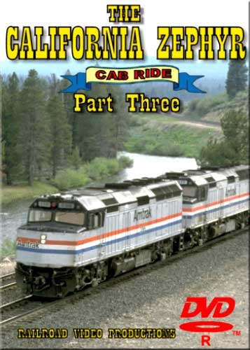 Amtraks California Zephyr Cab Ride Part 3 Granby to Glenwood Springs DVD Railroad Video Productions RVP17CD