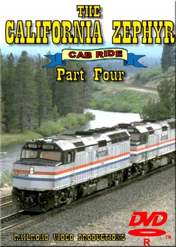 Amtraks California Zephyr Cab Ride Part 4 Glenwood Springs to Grand Junction DVD Railroad Video Productions RVP17DD