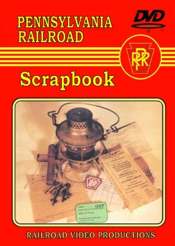 Pennsylvania Railroad Scrapbook DVD Train Video Railroad Video Productions RVP186D