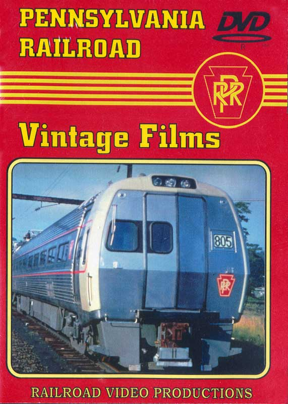 Pennsylvania Railroad Vintage Films DVD Train Video Railroad Video Productions RVP188D