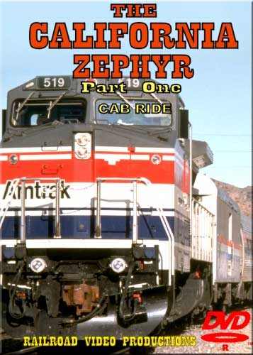Amtraks California Zephyr Cab Ride Part 1 Sparks to Norden Donner DVD Train Video Railroad Video Productions RVP18AD