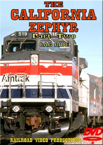 Amtraks California Zephyr Cab Ride Part 2 Norden to Colfax Donner DVD Railroad Video Productions RVP18BD