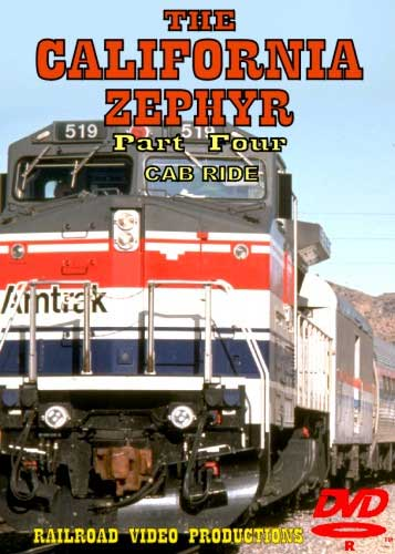 Amtraks California Zephyr Cab Ride Part 4 Davis to Oakland DVD Train Video Railroad Video Productions RVP18DD