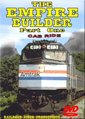 Amtraks Empire Builder Cab Ride Whitefish to East Glacier Part 1 DVD Train Video Railroad Video Productions RVP19AD