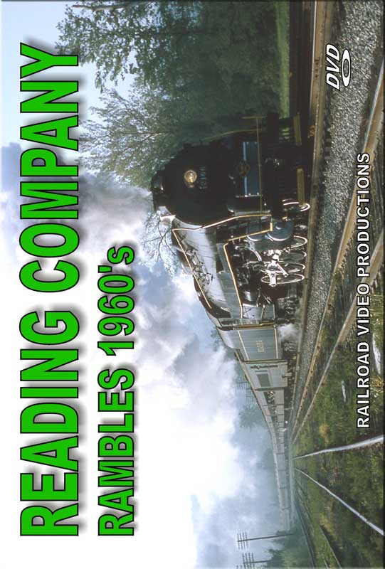 Reading Company Rambles 1960s DVD Railroad Video Productions RVP206D