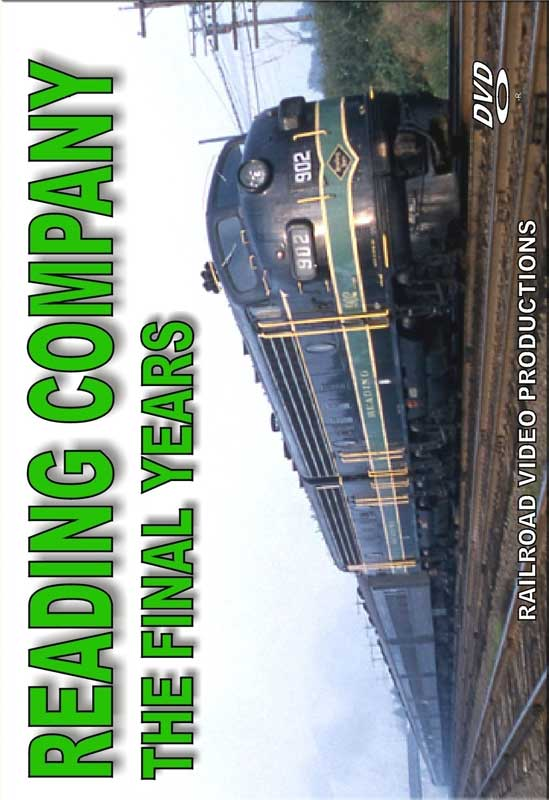 Reading Company - The Final Years DVD Railroad Video Productions RVP207D