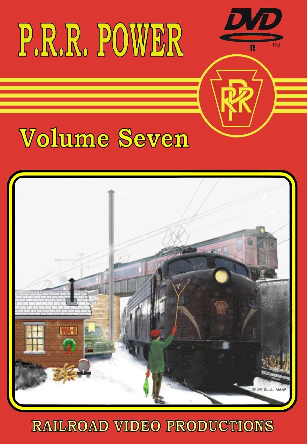 Pennsylvania Railroad Power Volume 7 DVD Train Video Railroad Video Productions RVP208D