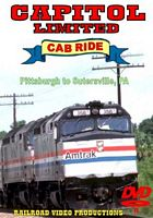 Amtrak Capitol Limited Cab Ride DVD Part 3 Pittsburgh to Sutersville