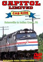 Amtrak Capitol Limited Cab Ride DVD Part 4 Sutersville to Indian Creek