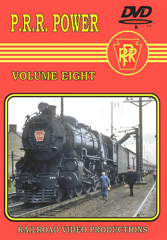 Pennsylvania Railroad Power Volume 8 Train Video Railroad Video Productions RVP214D
