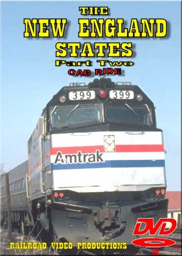 New England States Amtrak Cab Ride DVD Part 2 Train Video Railroad Video Productions RVP23B