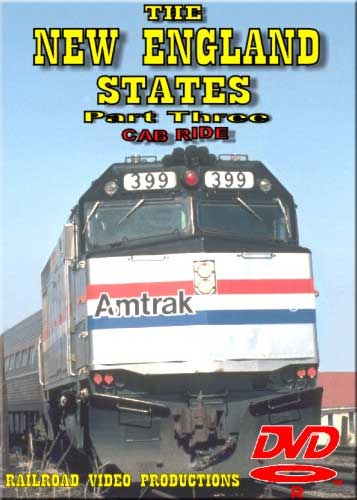 New England States Amtrak Cab Ride DVD Part 3 Train Video Railroad Video Productions RVP23C