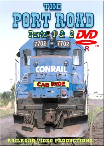Conrail Port Road Cab Ride Parts 1 & 2 DVD Train Video Railroad Video Productions RVP24ABD