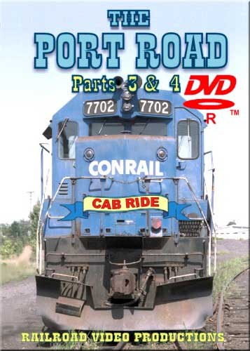 Conrail Port Road Cab Ride Parts 3 & 4 DVD Train Video Railroad Video Productions RVP24CDD