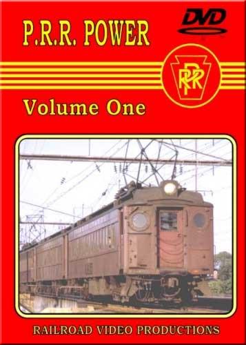 Pennsylvania Railroad Power Vol 1 DVD Train Video Railroad Video Productions RVP2D
