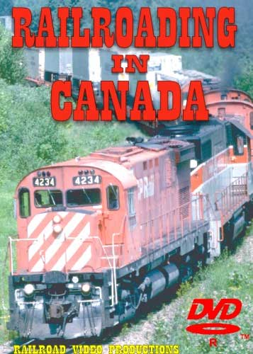 Railroading in Canada in the 80s DVD Railroad Video Productions RVP31D
