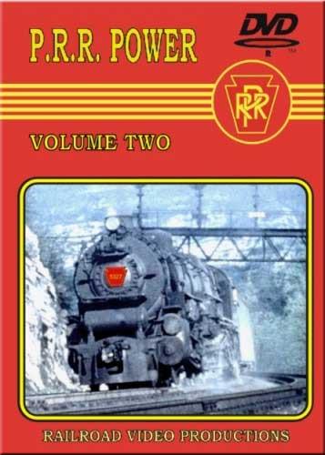 Pennsylvania Railroad Power Vol 2 DVD Train Video Railroad Video Productions RVP34D