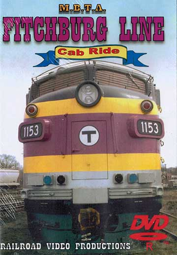 MBTA Fitchburg Line Cab Ride DVD Railroad Video Productions RVP37D