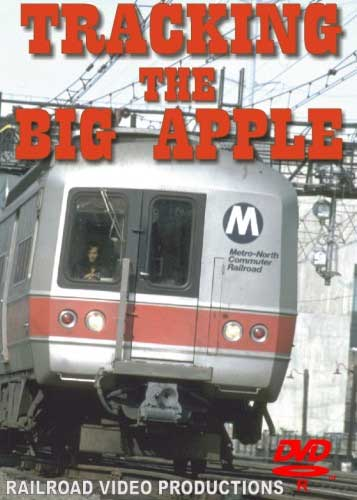 Tracking the Big Apple DVD Train Video Railroad Video Productions RVP44D