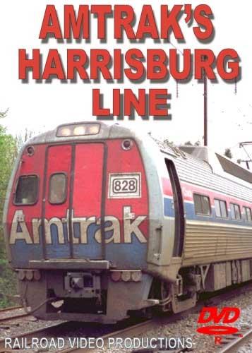 Amtraks Harrisburg Line DVD Train Video Railroad Video Productions RVP45D