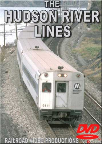 Metro North Hudson River Lines DVD Railroad Video Productions RVP49D