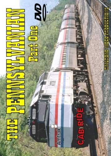 Amtrak Pennsylvanian Cab Ride Part 1 DVD Railroad Video Productions RVP4AD