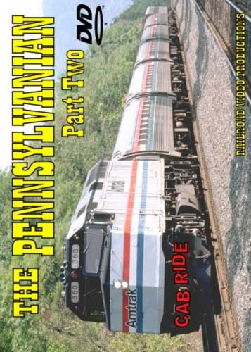 Amtrak Pennsylvanian Cab Ride Part 2 DVD Train Video Railroad Video Productions RVP4BD
