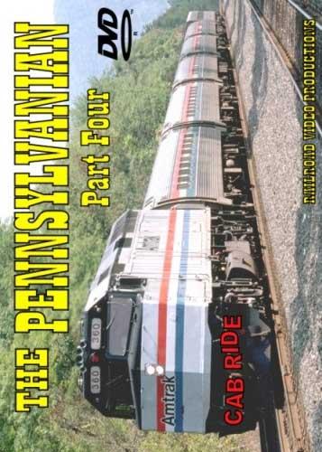 Amtrak Pennsylvanian Cab Ride Part 4 DVD Railroad Video Productions RVP4DD