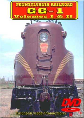 Pennsylvania Railroad GG1 Volumes 1 & 2 DVD Railroad Video Productions RVP7-26D