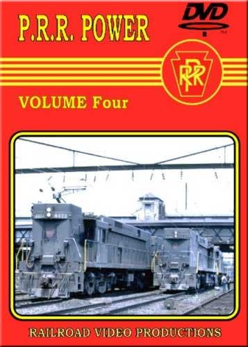 Pennsylvania Railroad Power Vol 4 DVD Railroad Video Productions RVP90D